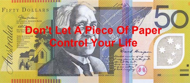 Dont let money control your life